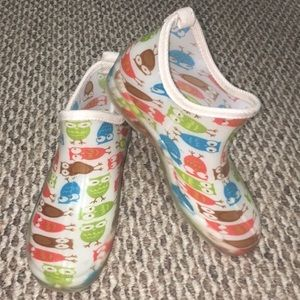 Shoes - Owl Rain Boots